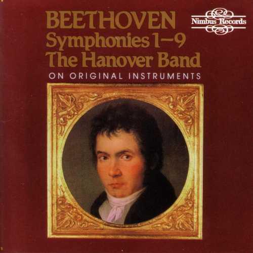 Hanover Band: Beethoven - Symphonies no.1-9 on Original Instruments (FLAC)