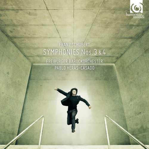 Heras-Casado: Schubert - Symphonies no.3 & 4 (24/96 FLAC)