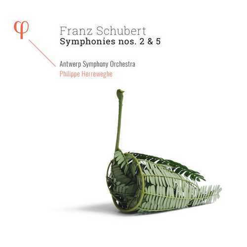 Herreweghe: Schubert - Symphonies no.2 & 5 (24/96 FLAC)