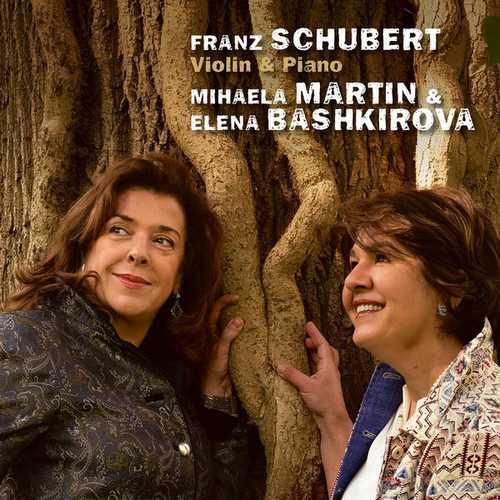 Martin, Bashkirova: Schubert - Violin & Piano (24/96 FLAC)