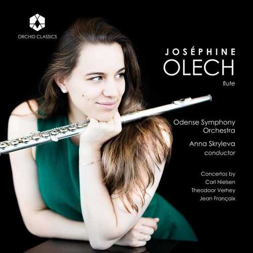 Olech: Nielsen, Verhey, Françaix - Flute Concertos (24/88 FLAC)
