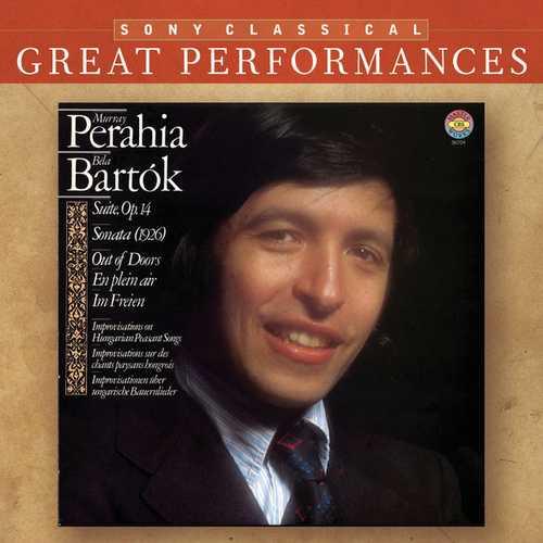 Perahia: Bartók - Suite op.14, Sonata (1926), Out of Doors, Ein Plein air im Freien (FLAC)