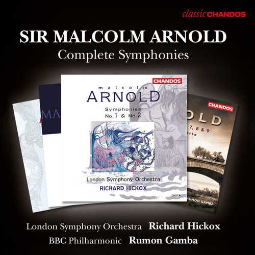 Sir Malcolm Arnold - The Complete Symphonies (FLAC)