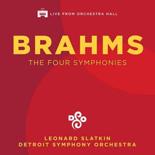 Slatkin: Brahms - The Four Symphonies (FLAC)