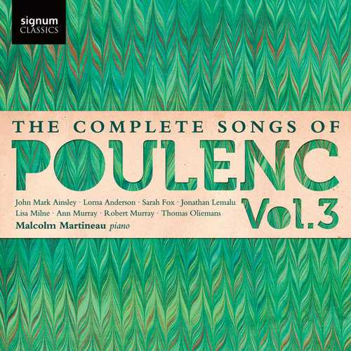 The Complete Songs of Francis Poulenc vol.3 (24/48 FLAC)