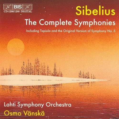 Vänskä: Sibelius - The Complete Symphonies (FLAC)