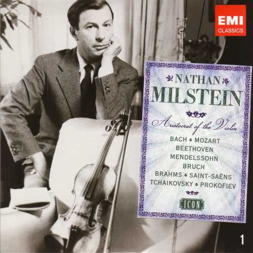 Nathan Milstein - Aristocrat of the Violin, EMI Icon (8 CD box set, APE)