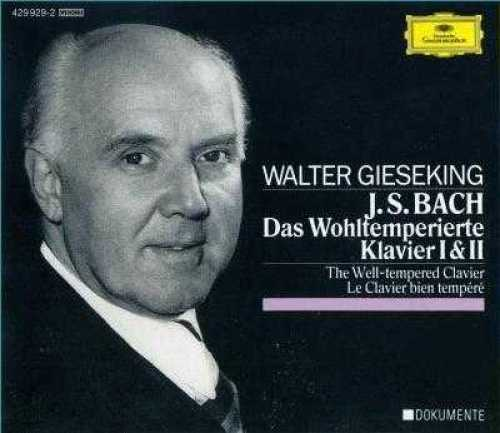 Gieseking: Bach - Well-Tempered Clavier (3 CD, FLAC)