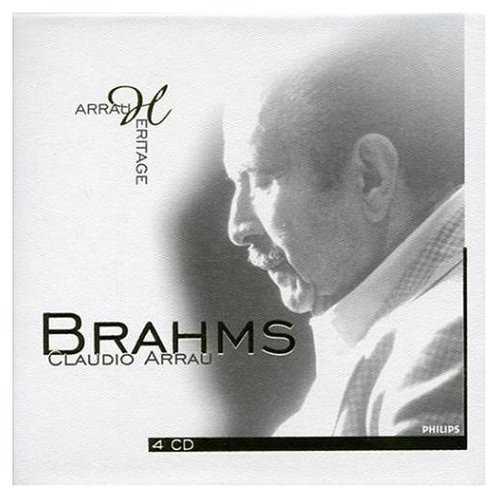 Arrau Heritage: Brahms (4 CD, FLAC)