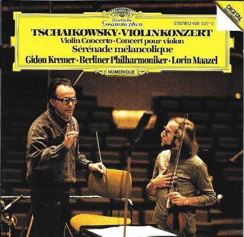 Maazel, Kremer: Tchaikovsky - Concerto for Violin, Serenade Melancolique (FLAC)