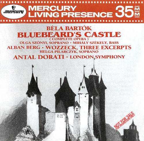 Bartok - Bluebeard's Castle; Berg - 3 pieces from Wozzeck (APE)