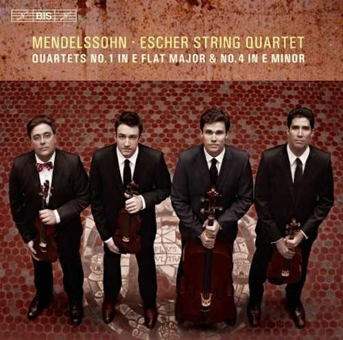 Escher String Quartet: Mendelssohn - String Quartets no. 1, 4 (24/96 FLAC)