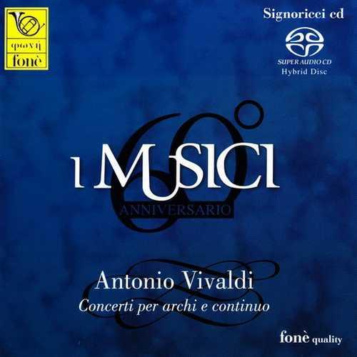 I Musici: Vivaldi - Concerti per archi e continuo (SACD)