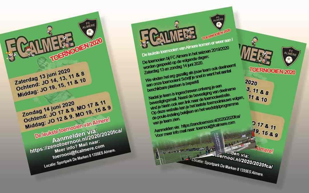 Toernooien FC Almere 2020
