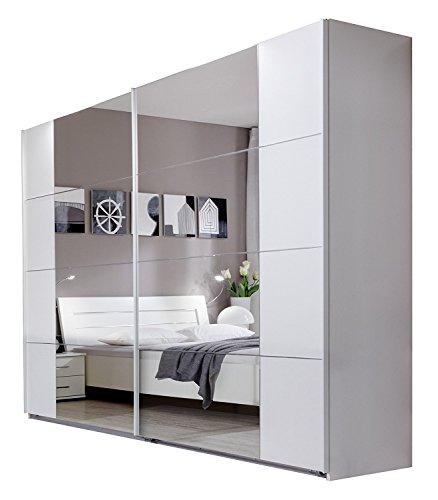 Wimex Kleiderschrank/Schwebetürenschrank Davos, (B/H/T) 225 x 210 x 58 cm, Weiß