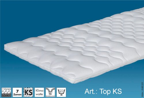 Hn8 Top KS - 90x220* cm Matratzenauflage / Topper, *Sonderanfertigung