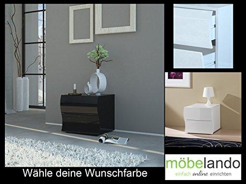 "Nachtkommode Nachtkonsole Nachttisch Tisch Kommode ""Onda I"""
