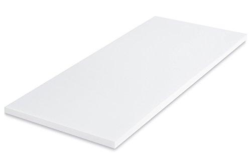 MSS 100200-200.140.4 Viscoelastische Matratzenauflage, RG50, Größe 140 x 200 x 4 cm