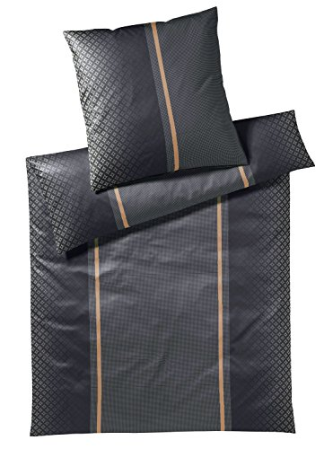 JOOP! Bettwäsche Decor 4071 | 99 black - 135 x 200 cm