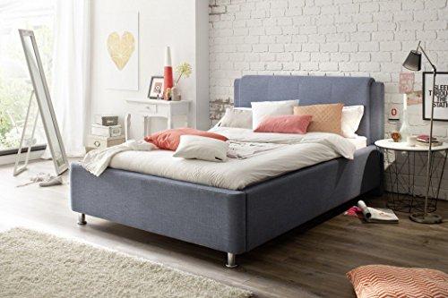 Polsterbett mit Bettkasten 140x200 mit Bettkasten
