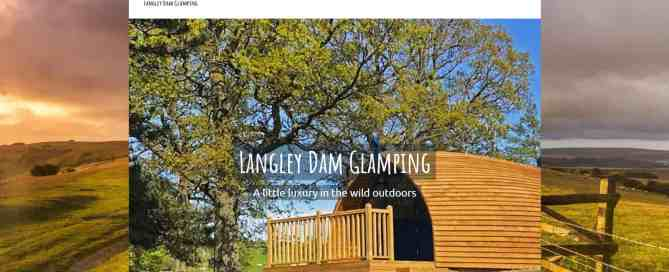 Langley Dam Glamping website
