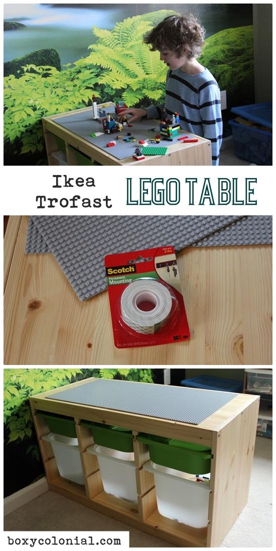 Ikea Trofast Lego Table