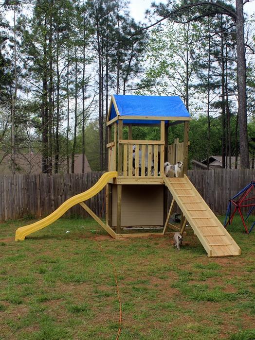 DIY Swing Set, Part 1: What We Did for Spring Break