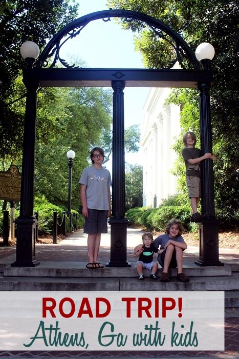 Road Trip Athens Ga With Kids
