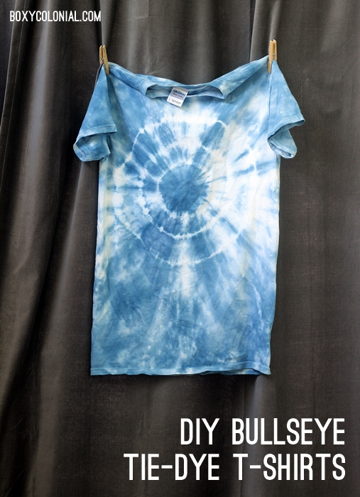 Diy Bullseye Tie Dye T Shirts For All The Cousins