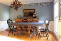Our Newly Hale Navy Dining Room Table and the Finish Max ...
