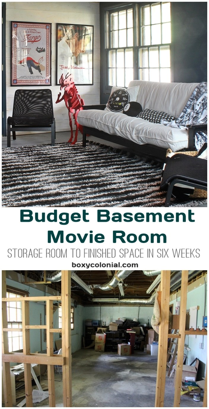 Basement Game Room Designs: Our Basement Movie And Game Room: Fall In Love