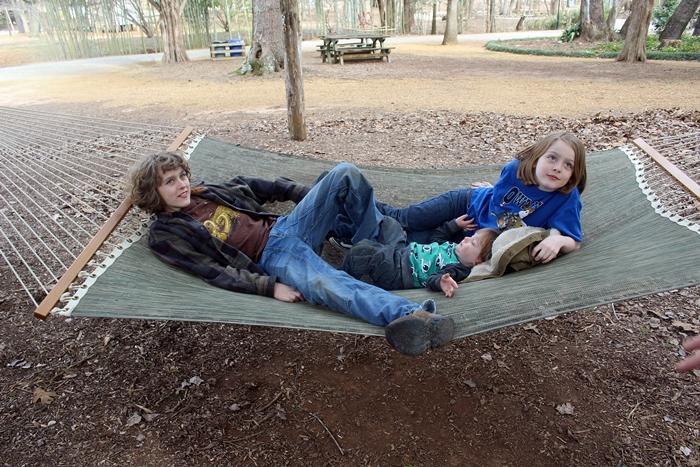 huntsville botanical garden hammock