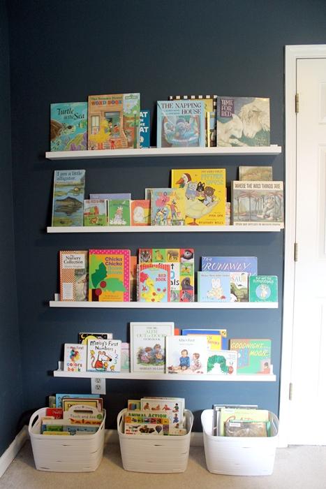 Ikea Ribba Book Ledges For Abe S New Nursery