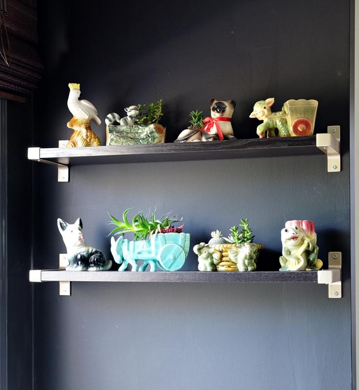 vintage planter collection