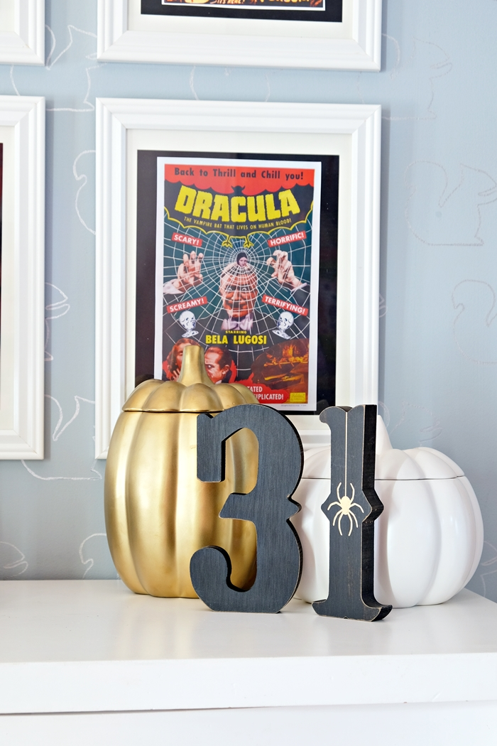 free printable dracula poster and halloween decorations