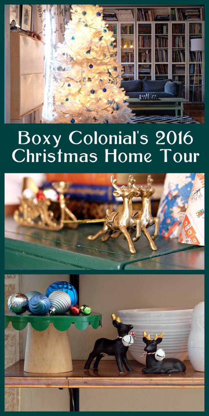 Boxy Colonial's 2016 Christmas Home Tour