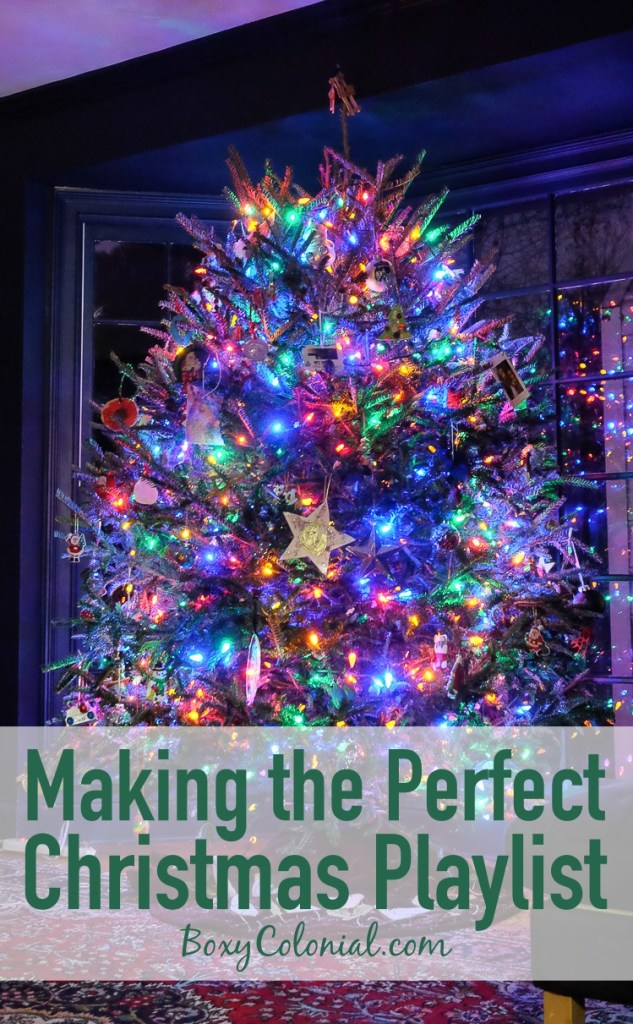 Tips and Resources for putting together your perfect Christmas playlist, plus my top 20 Christmas songs