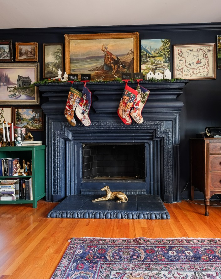 Christmas home tour from Boxy Colonial