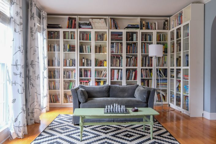 Home Library Organization And The Billy Shelves Six Years Later