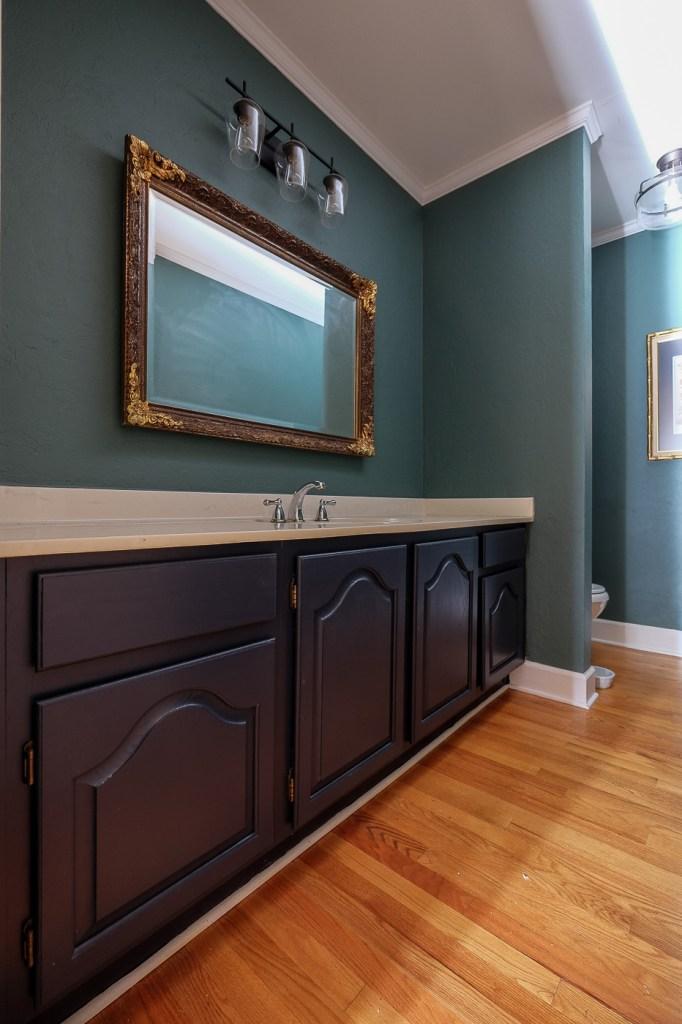 Hale Navy Bathroom Cabinets: Fingers Crossed -