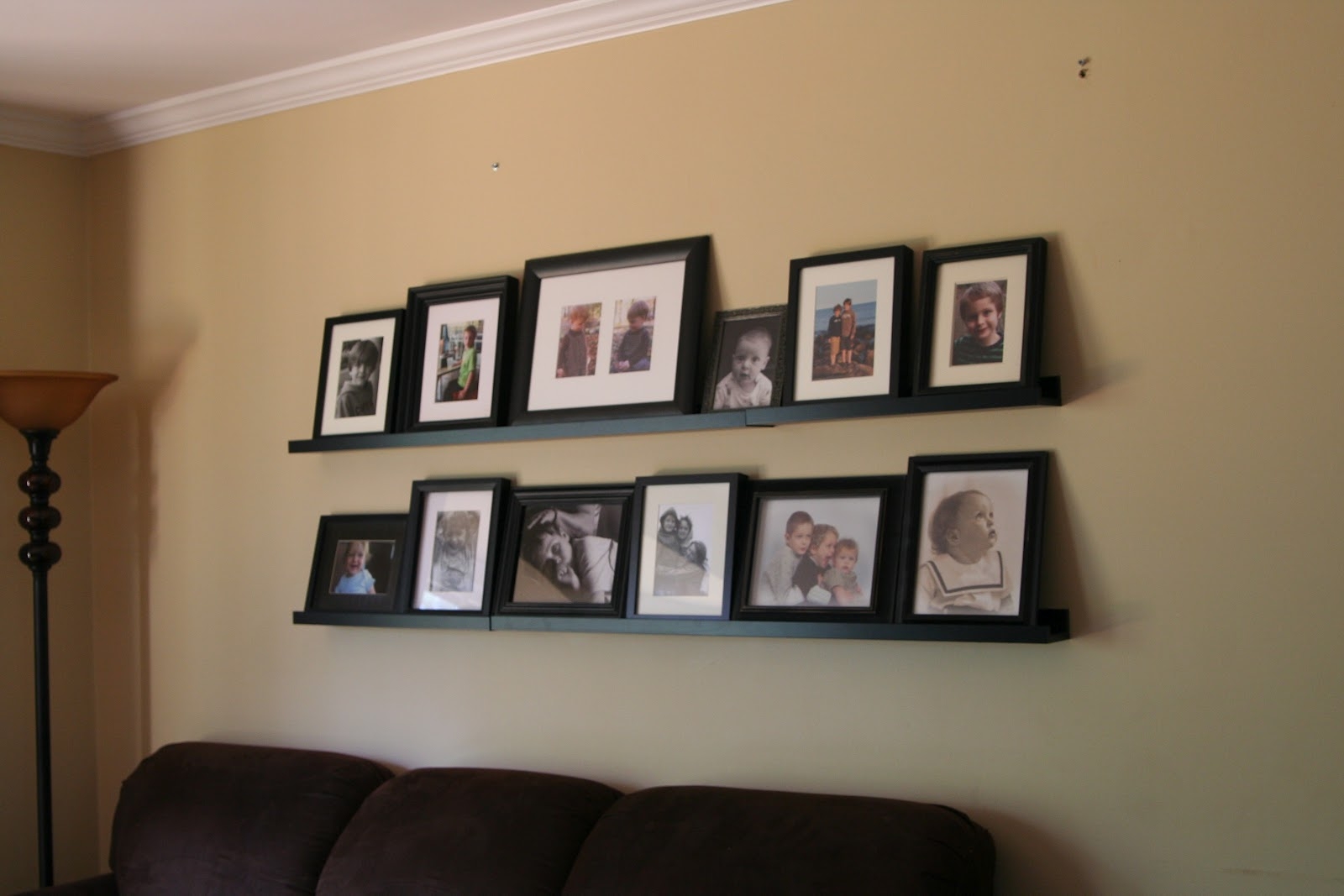 Ikea Ribba Picture Ledge Hanging Proving We Can