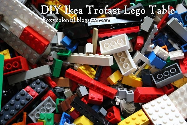 DIY Ikea Lego Table: aka The Super Secret Project: The Day the ...