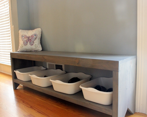 Dave Tells Us How To Build A Bench With Shoe Storage