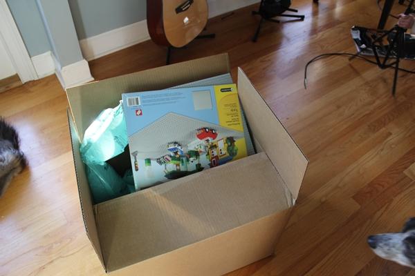 DIY Ikea Lego Table: aka The Super Secret Project: The Day the Glue ...
