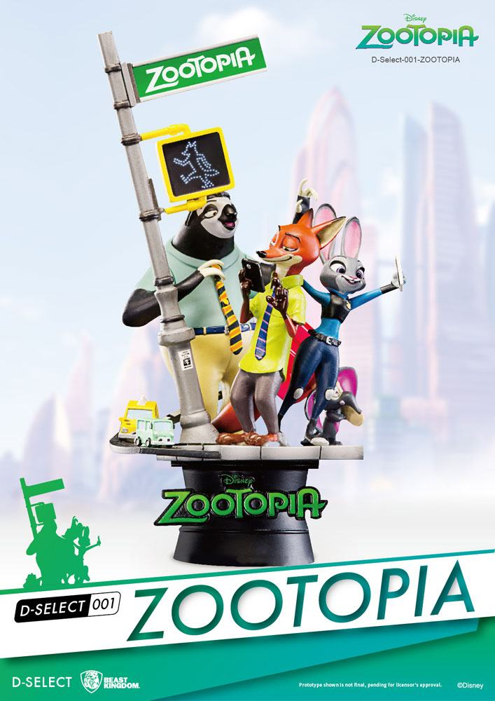 Zoomania Bettwäsche zoomania D-select Pvc Diorama 16 Cm - Boy