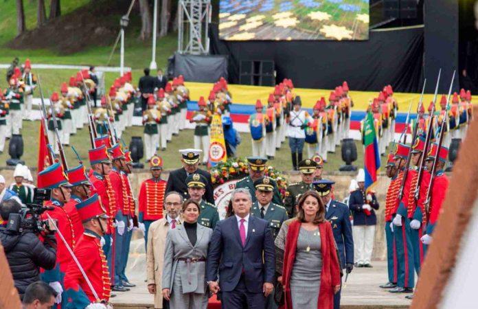 Presidente Ivan Duque y el 7 de Agosto en los 200 años de independencia