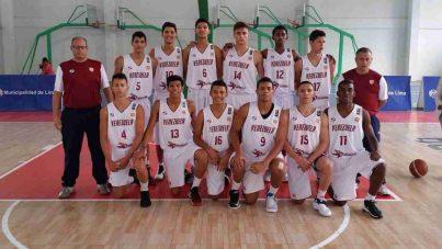 Selección baloncesto de Venezuela