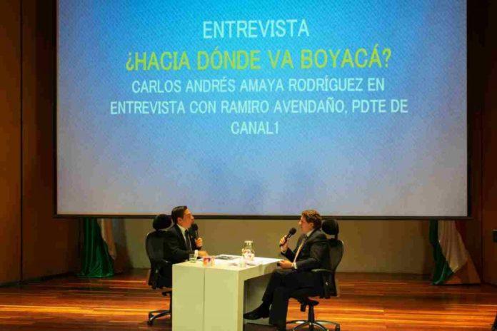 Foro Canal 1 en Tunja Hacia dónde va Boyacá con el Gobernador de Boyacá