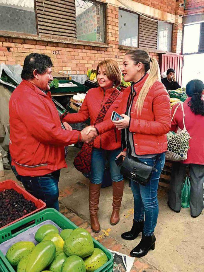 Margarita y Sandra en la Politica