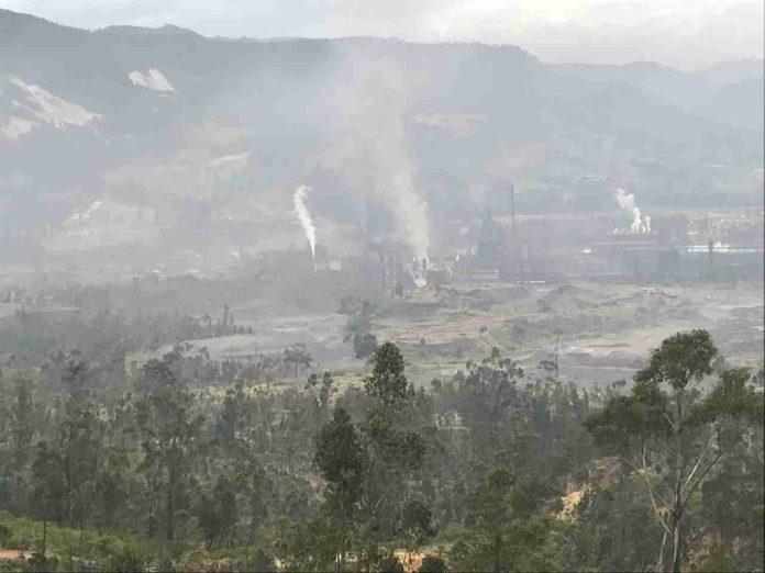 Contaminación aire Sogamoso